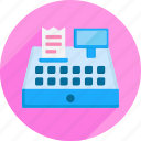 cash register, market, money, shopping, supermaket icon