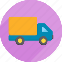 cargo, groceries, package, supermarket, truck