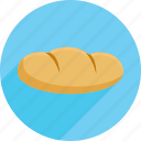 bread, groceries, market, shopping icon