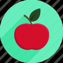 apple, fruit, groceries, market, shopping