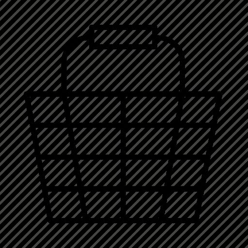 basket, market, retail, shopping, shops, supermarket, vendor icon