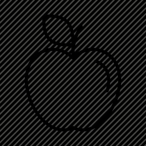 apple, market, retail, shopping, shops, supermarket, vendor icon