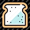 bread, loaf, toast, breakfast