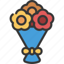 flower, boquete, grocery, store, flowers