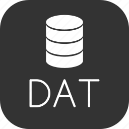 basic, dat, data, database, dos icon