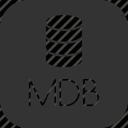 access, data, database, microsoft icon