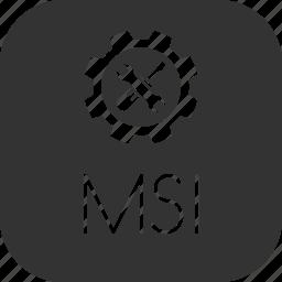 application, executable, file, msi, windows icon