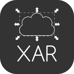 file, graphic, scalable, xar, xara icon