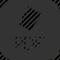 adobe, book, document, ebook, format, pdf, portable icon