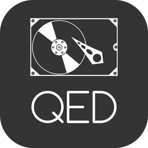 Qed, image, hard, harddisk, virtual, machine, hdd icon - Download on Iconfinder
