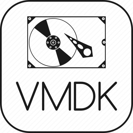 disk, hard, harddisk, hdd, machine, virtual, vmdk icon