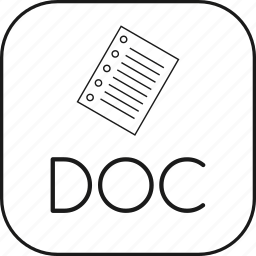 doc, filedocument, kingsoft, microsoft, office, word, writer icon