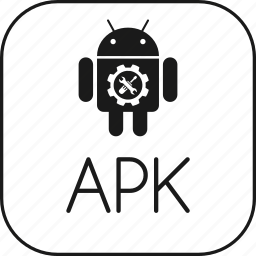android, apk, application, archive, executable, java, package, program, zip icon