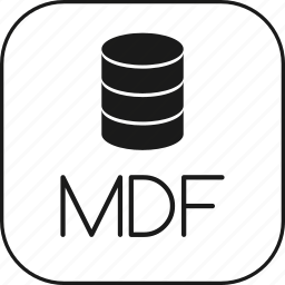 data, database, mdf, microsoft, server, sql icon