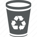 bin, recycle, trashcan, can, dump, delete, trash can, remove, garbage, recycle bin