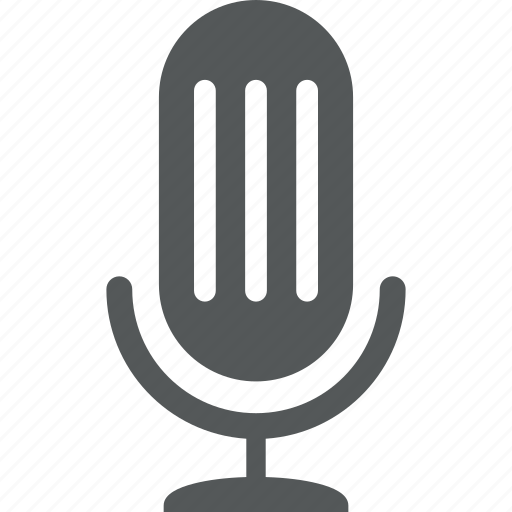 audio, mic, sound, speech, talk icon