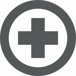 add, aid, expand, first, increase, medical, plus, positive, sign icon