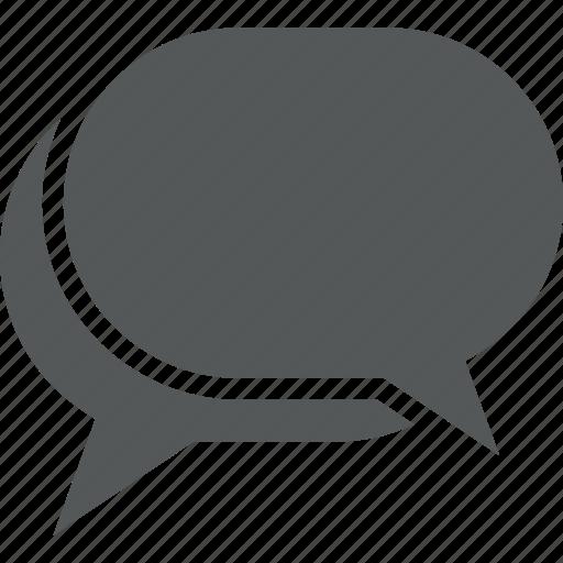 bubble chat chatting comment communication message messaging
