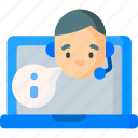 connection, internet, online, support icon