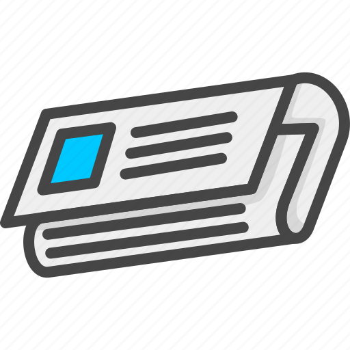 Filled, newspaper, outline, service, support icon - Download on Iconfinder