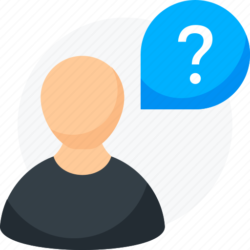 help, how often, question, user profiles, user questions, when, which one icon icon