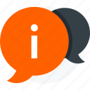alert, bubble, chat, speech icon icon