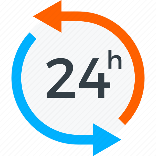 24/7, assistance, customer support, shopping icon icon