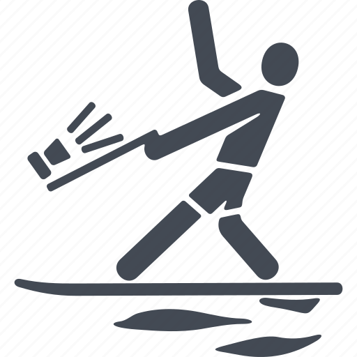 gliding, sea, sport, surfboarder, surfing, wave, wind speed icon