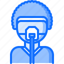 anesthesia, mask, operation, patient, plastic, surgeon, surgery icon