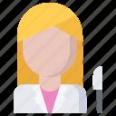 operation, plastic, surgeon, surgery, woman icon