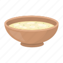 bowl, dish, food, seafood, soup icon
