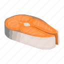 fish, food, steak, sturgeon icon