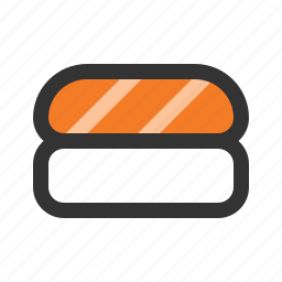 nigiri, salmon, sushi icon
