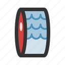 meat, seafood, tuna icon