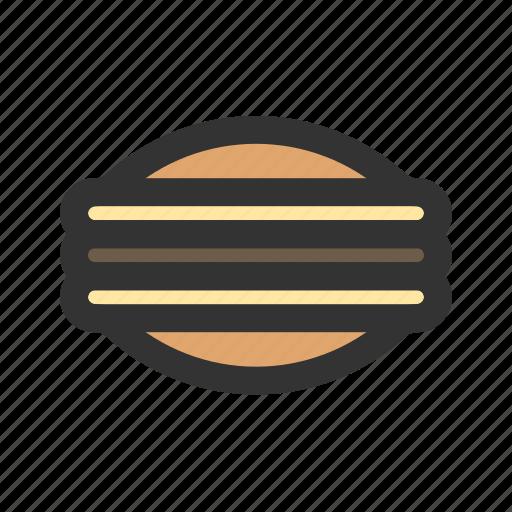 dorayaki, japanese, pancake icon
