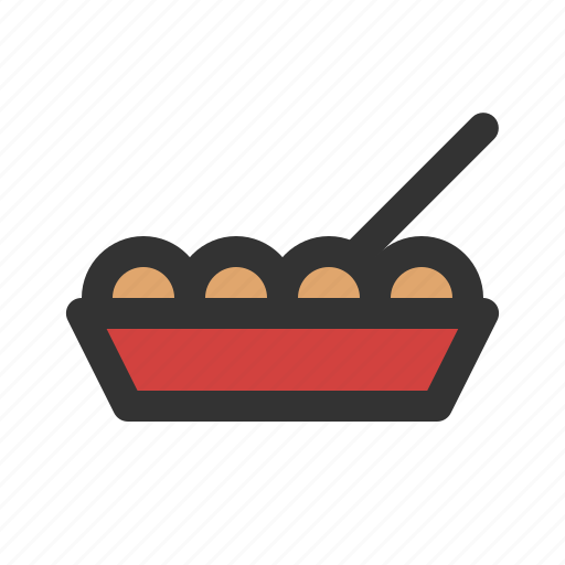 japanese, snack, takoyaki icon