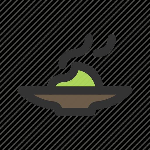 mustard, sauce, wasabi icon