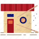 asian, color, food, japanese, restaurant, roll, sushi icon