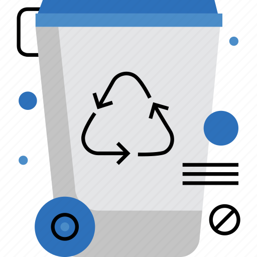 Bin, garbage, recycle, recycling, reuse, trash, waste icon - Download on Iconfinder