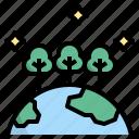 abundance, earth, ecosystem, environment, forest icon