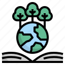 earth, ecology, forest, forestry, tree icon