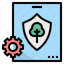 forest, law, preservation, principle, regulation icon