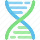 atomic, biology, clone, dna, microscopic, rna icon