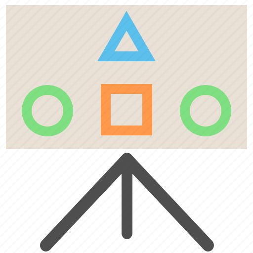 canvas, gameplan, planning, presentation, strategic planning, strategy icon