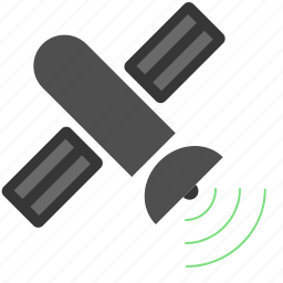 beam, nasa, orbit, satellite, signal, technology icon