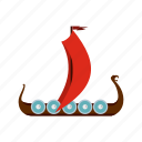 ancient, boat, medieval, nautical, sail, ship, vessel