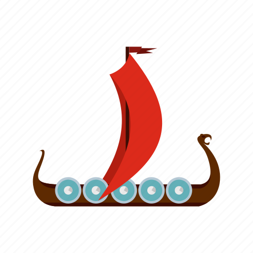 ancient, boat, medieval, nautical, sail, ship, vessel icon