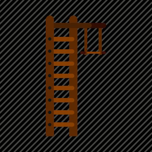 bar, gym, gymnastic, ladder, sport, swedish, wall icon