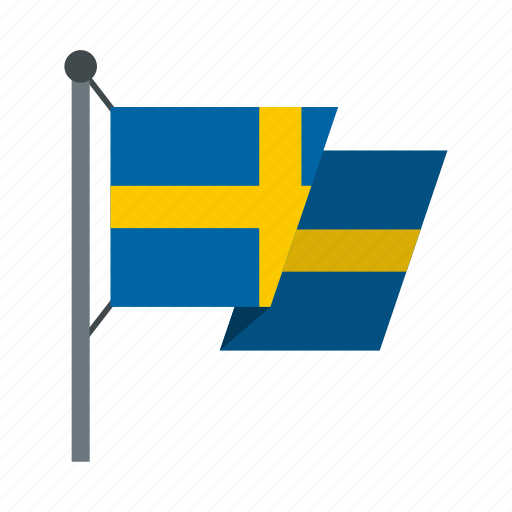 Banner, country, flag, nation, national, sweden, swedish icon - Download on Iconfinder