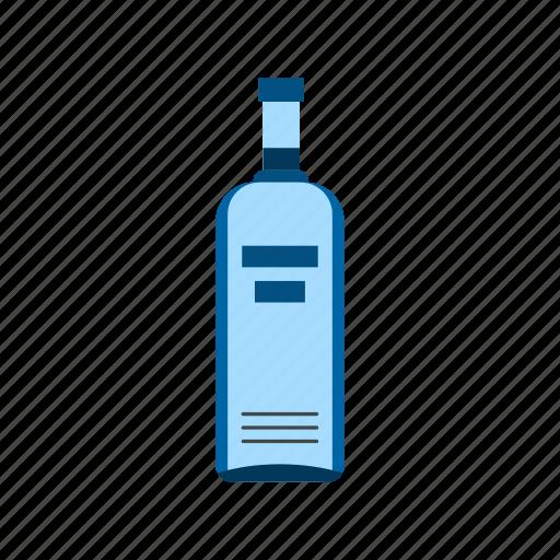 alcohol, beverage, bottle, glass, liquid, liquor, vodka icon
